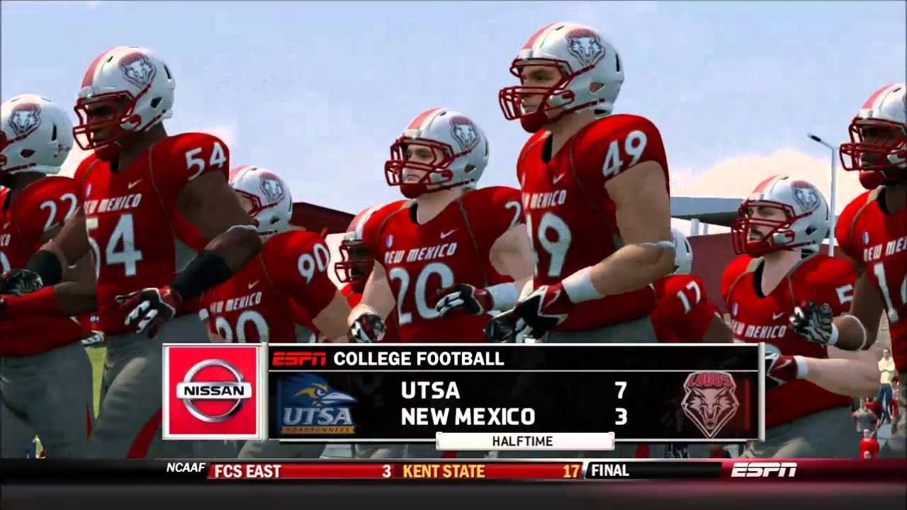 8cfeb26ce NCAA Football 14 UTSA Dynasty  Week 1 vs New Mexico - YouTube