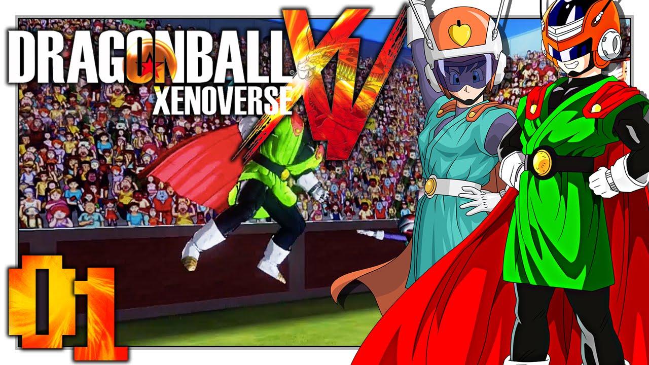 Dragon Ball Xenoverse Bulma helps Z-fighters - YouTube