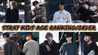 Gambar cover STRAY KIDS AGE RANKING/ORDER [2018]