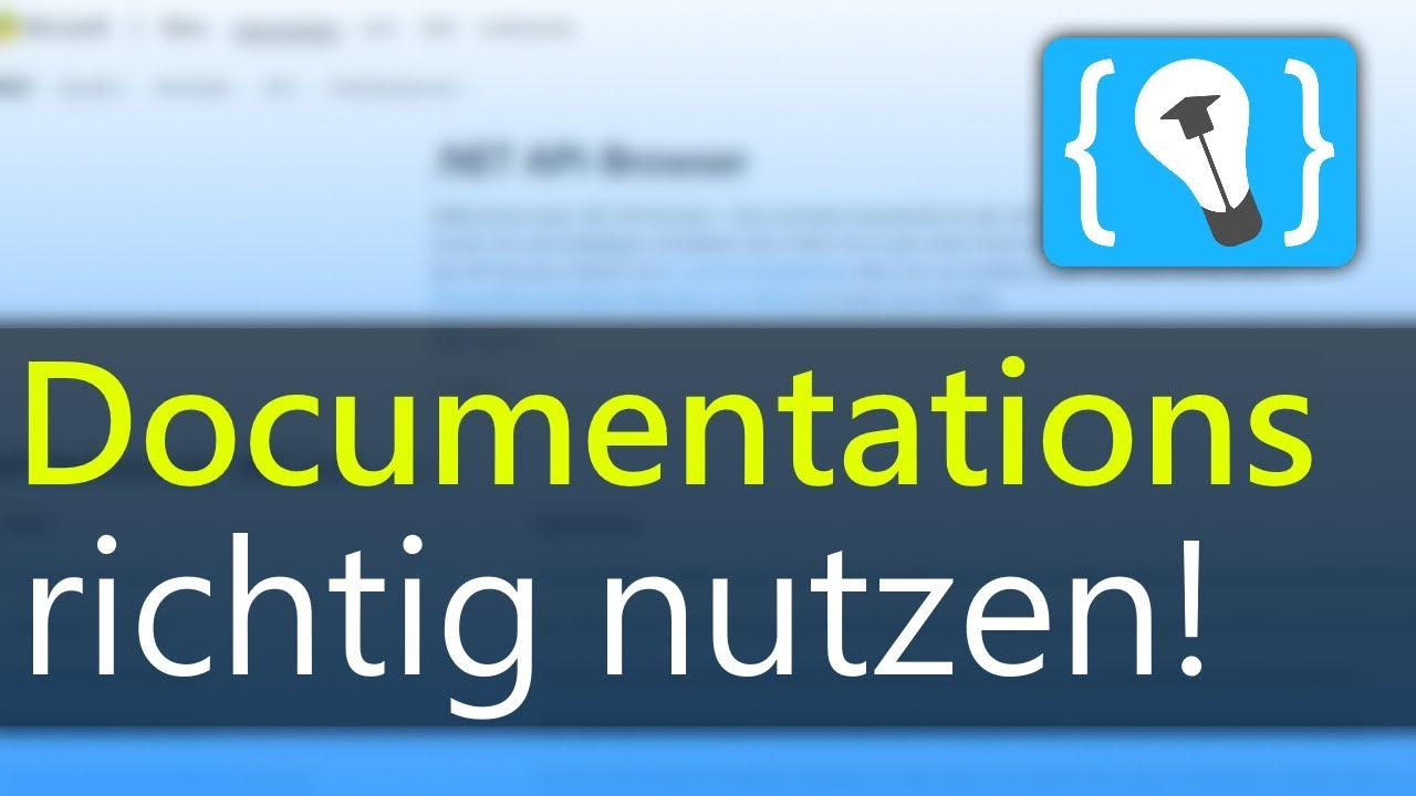 Warum Du Programmier-Dokumentationen Nutzen Solltest!