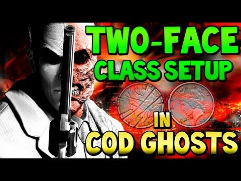 """COD Ghosts - """"TWO-FACE"""" - Batman Custom Class Setup """"Heads or Tails, Live or Die"""" (Call of Duty)"""