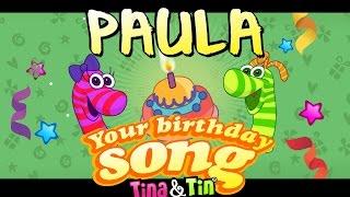 Tina&Tin Happy Birthday PAULA