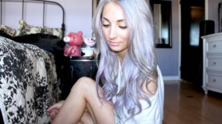 One of Brittany Balyn's most viewed videos: Pastel Silver/Purple Ombre Hair Tutorial