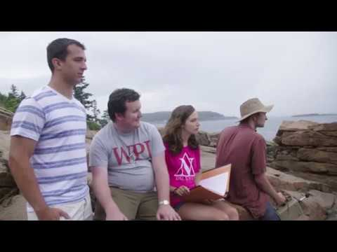 Step 4 of WPI students' Interactive Qualifying Project (IQP) journey to Bar Harbor