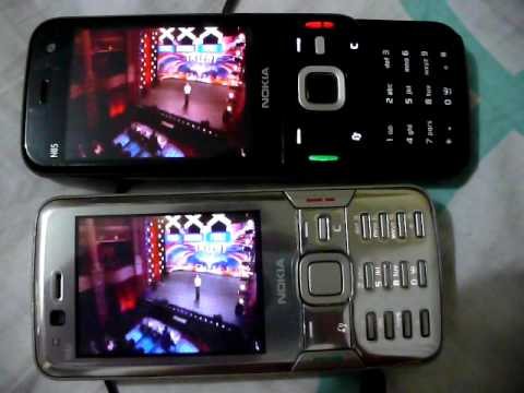 Nokia N82 vs N85 video playback test review