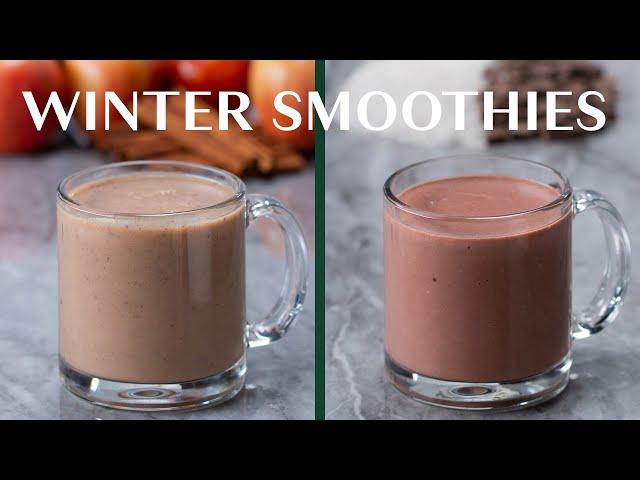 Warm Winter Breakfast Smoothies