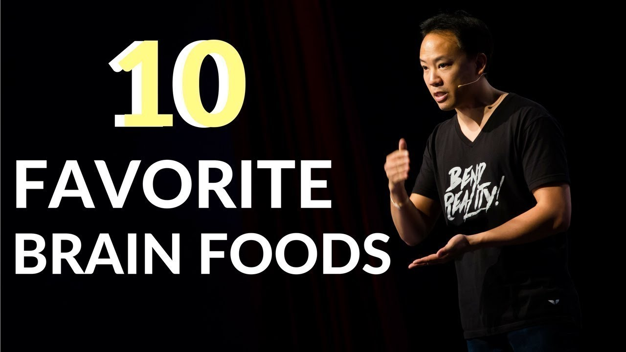 Kwik Brain: My 10 Favorite Brain Foods (Episode 5)