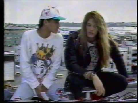 Sebastian Bach - Interview New Zealand 1989