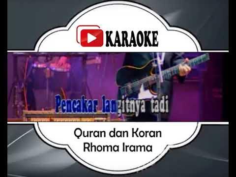 lagu-karaoke-rhoma-irama---quran-dan-koran-(dangdut)-|-official-karaoke-musik-video