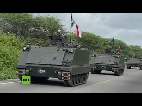 Perú Despliega Tropas Y Tanques En Su Frontera Con Ecuador