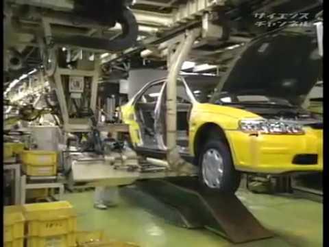 Как собирают автомобили в Японии
