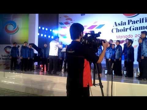 Vox Angelica Male Choir - Lux Aurumque, on APCG 2013 (Gold Champion)