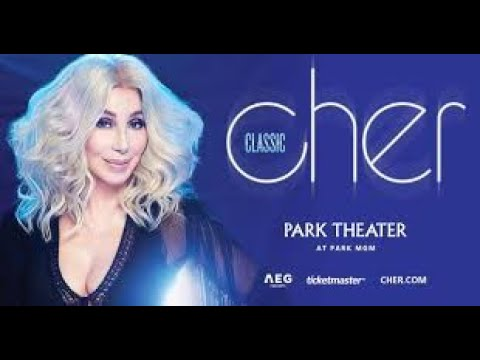 Cher Welcome to Burlesque Las Vegas Park Theatre Monte Carlo 05/19/2017