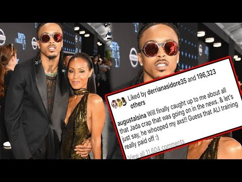 August Alsina says Will Smith put the Paws on him