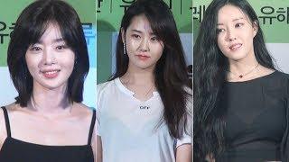 한선화-허가윤-효민, '민소매에 시스루까지…패션…