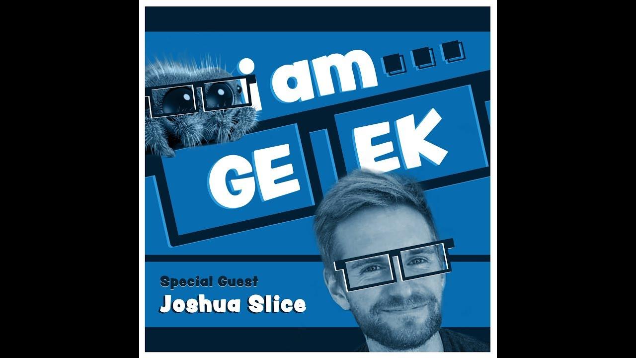 Download iamGEEK episode 47: Lucas the Spider Creator Joshua Slice