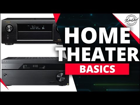 A/V Receivers, The Brains of Your System | Home Theater Basics