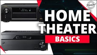 A/V Receivers, The Brains of Your System   Home Theater Basics