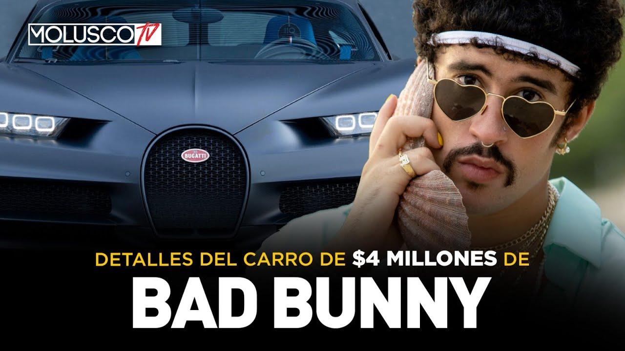 """¿QUÉ TIENE EL """"BUGATTI"""" DE $4 MILLONES DE BAD BUNNY? DETALLES AQUÍ - download from YouTube for free"""