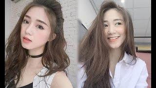 Những kiểu tóc phù hợp với khuôn mặt tròn bầu giúp bạn gái trở nên xinh đẹp
