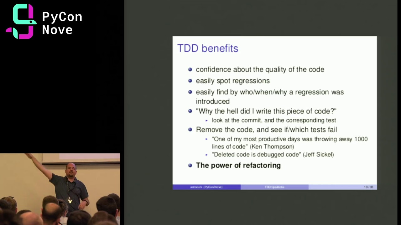 Image from The practice of TDD: tips&tricks