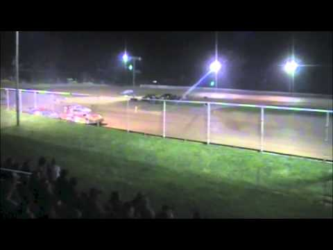 Ohio Valley Speedway AMRA Late Model Feature Highlights 04/12/14