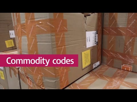 What are commodity codes?