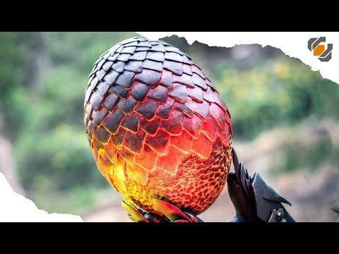 Game Of FOAMS  - DIY Dragon Egg Made EASY! + FREE Blueprints