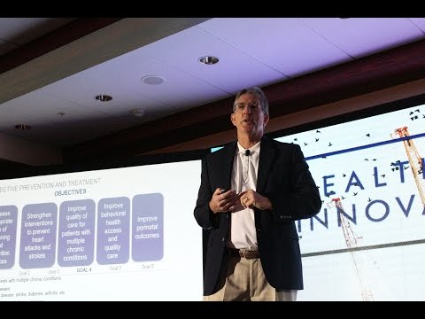 Imagining the Future - Hospitals Without Beds | Dave Kistel (Lee Health) speaks at HFIF'16