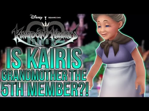 Kingdom Hearts - Could Kairis Grandmother Be The 5th Leader?