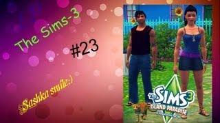 LP The Sims 3 Райские острова  №23 Алиана - русалка/ Маттео - качок.