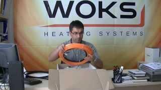Обзор тонкого теплого пола Woks 10-800
