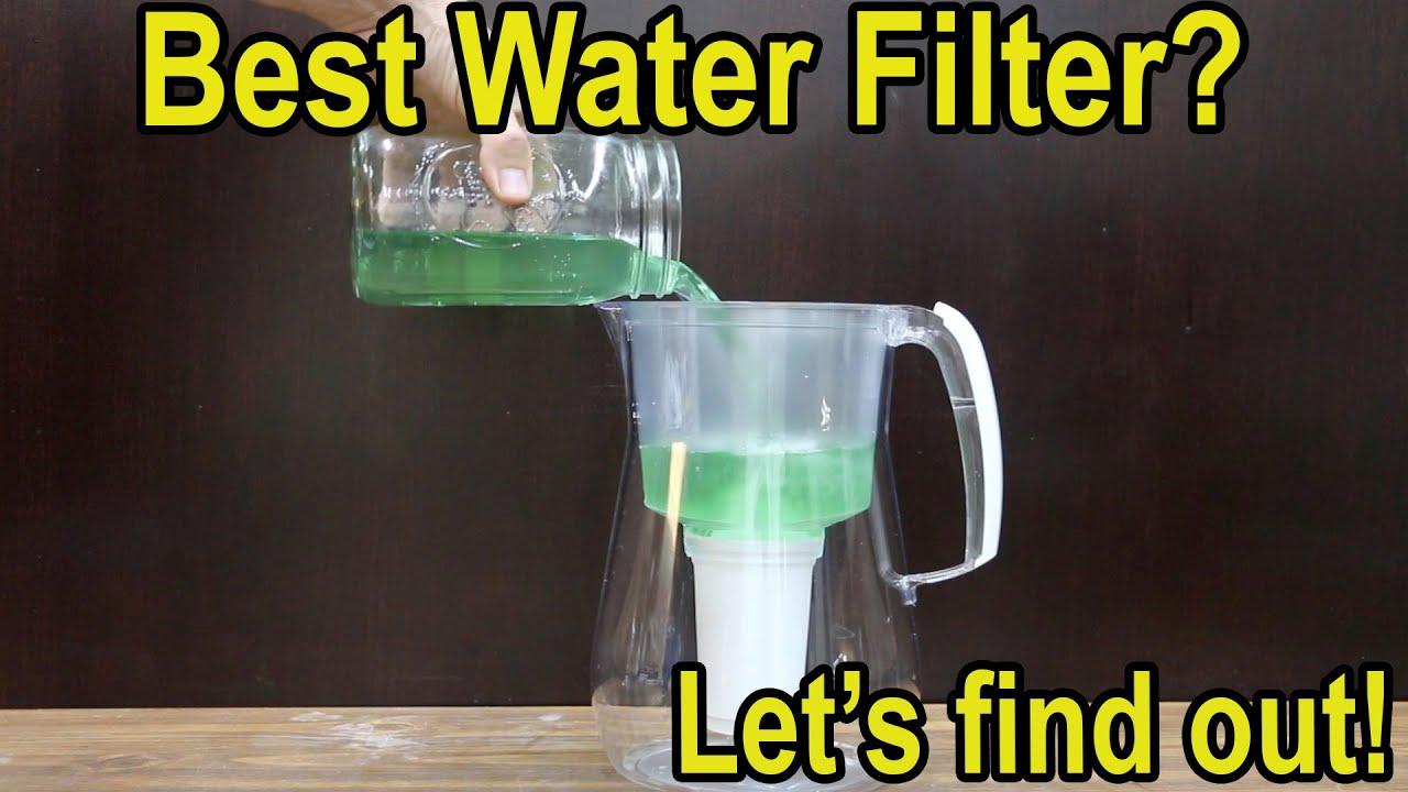 Best Water Filter? Brita, ZeroWater, PUR, Berkey, Aquaphor, AquaTrue
