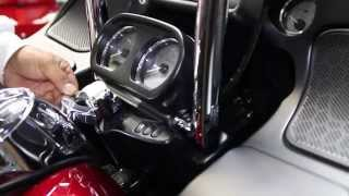"""Factory 47 2015 2016 Road Glide 14"""" Handle Bar Install"""