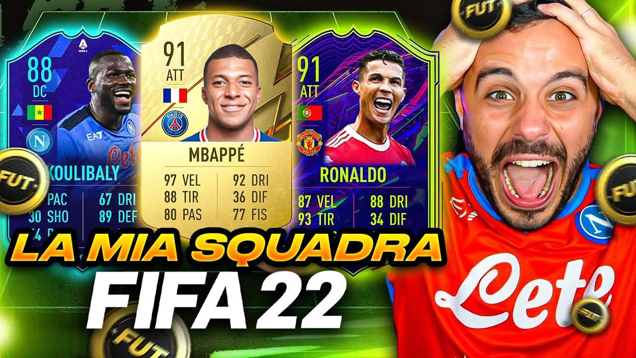 Download 🤑 LA MIA SQUADRA FORTISSIMA su FIFA 22!