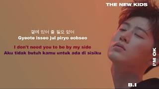 [HAN|ROM|ENG|INDO SUB LYRICS] iKON (아이콘) -  I'm OK Color Coded