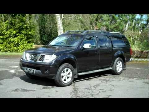 2009 09 Nissan Navara 2 5 DCi Auto Aventura Sat Nav and Leather
