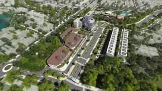 Phối cảnh của Khu Đô Thị Thiên Mỹ Lộc VSIP Quảng Ngãi năm 2020