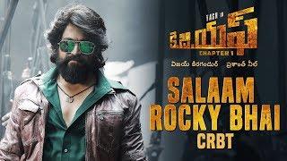 Salaam Rocky Bhai CRBT Codes | KGF Telugu Movie | Yash | Prashanth Neel | Hombale Films