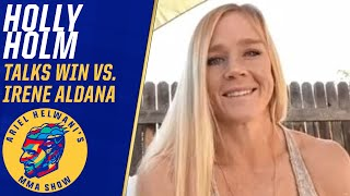 Holly Holm reflects on one of her best wins since Ronda Rousey knockout | Ariel Helwani's MMA Show