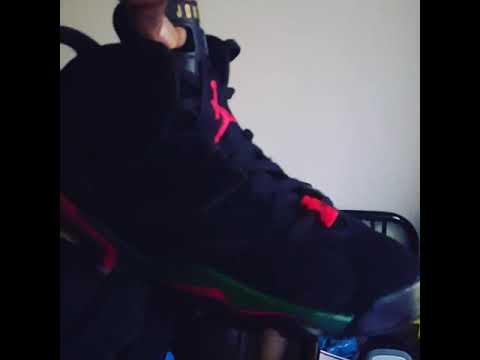 4ce7078d0c30e2 D.I.Y. Nike Air Jordan 6 Retro GUCCI CUSTOM WITH ANGELUS LEATHER PAINT