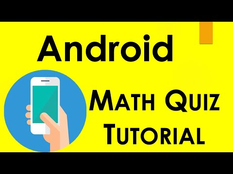 Develop A Math Quiz Mobile App In Android Studio
