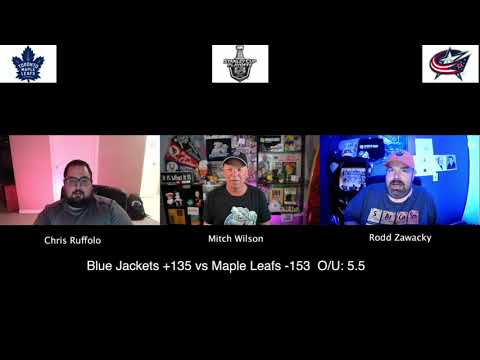Toronto Maple Leafs vs Columbus Blue Jackets 8/6/20 NHL Pick and Prediction Stanley Cup Playoffs