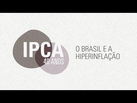 40 anos IPCA - O Brasil e a Hiperinflação