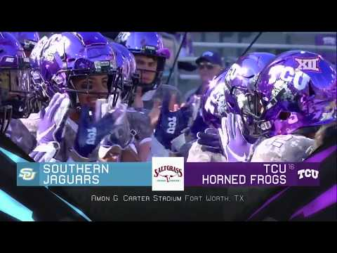 Southern vs TCU Football Highlights