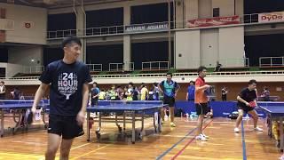 【#24時間卓球】翌日に #アンディーズ杯 に出場しました!