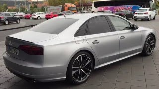 Audi Forum Neckarsulm - NEW Audi S8 Plus(Enjoy, and don't forget, subscribe to my channel for more videos ! Thanks for watching., 2015-12-21T11:05:59.000Z)