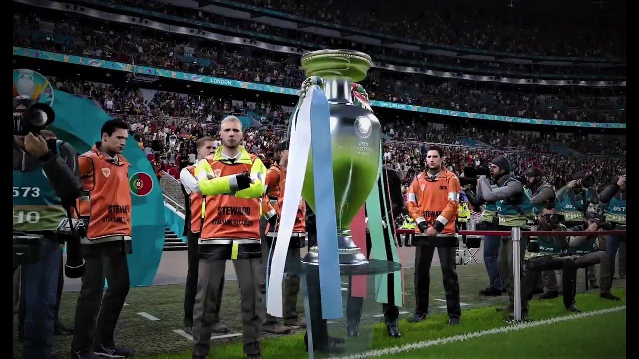 Portugal Vs France UEFA EURO 2020 Final- PES 2020 gameplay ...