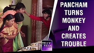 Pancham turns monkey and creates blunder at home | Jijaji Chhat Par Hain