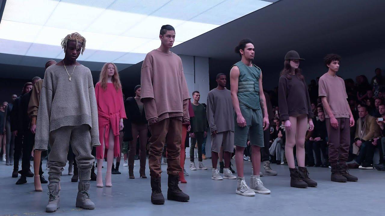 33b45550ea2a6 Kanye West x adidas Originals YEEZY SEASON 1 - YouTube